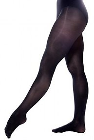 balettights, danstights, svarta tights