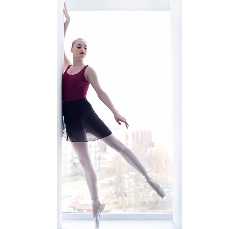 ... Balettkjol omlottkjol danskjol i svart. Perfekt till baletten 910e50acb5d7b